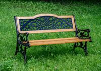 """Arabeska"". Скамейка садово-парковая."