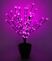 """""""Цветок в горшке"""" 60 см (""""Сакура"""", 96 LED)"""