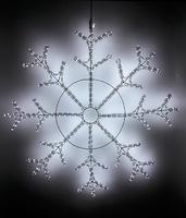 """""""Snowflake 110"""". Светодиодная снежинка, 110 см."""
