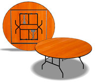 """C3.KTD"". Столы складные (D 120-180 см)."