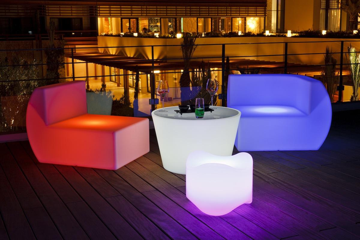 Мебель светодиодная