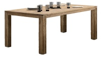 «Wiktoriya». Обеденный стол из тика, 200х100х77 см.